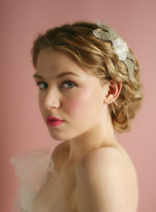 Thời trang tóc cưới cho nàng dâu kiêu sa - 8