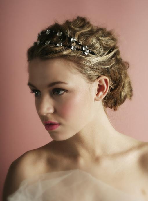 Thời trang tóc cưới cho nàng dâu kiêu sa - 16