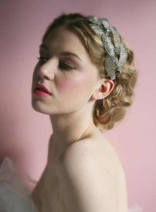 Thời trang tóc cưới cho nàng dâu kiêu sa - 13