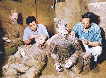 Truy tìm hung thủ đốt lăng Tần Thủy Hoàng - 1