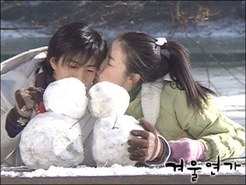 """1001 kiểu """"khóa môi"""" trong phim Hàn - 1"""