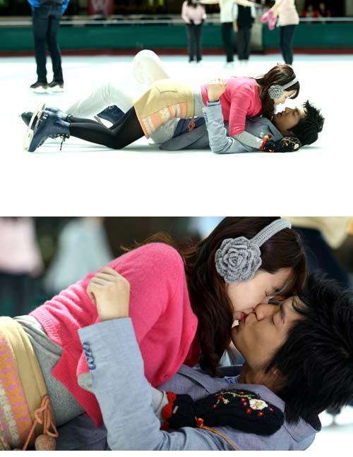 """1001 kiểu """"khóa môi"""" trong phim Hàn - 2"""