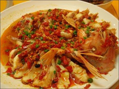Ẩm thực: Cá điêu hồng sốt ớt đỏ - 1