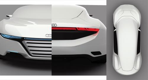 Lộ diện Audi A9 đối thủ của Porsche Panamera - 2