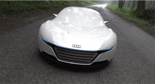 Lộ diện Audi A9 đối thủ của Porsche Panamera - 3