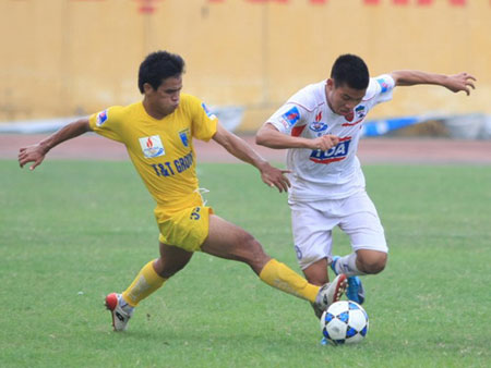 Kết thúc lượt đi V.League 2010: SHB Đà Nẵng dẫn đầu bảng xếp hạng, Megastar Nam Định chìm dưới đáy - 2