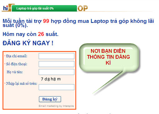 Mua laptop trả góp lãi suất 0% tại hiSHOP - 2