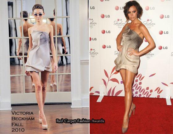 Vic kiêu hãnh với chiếc váy tự thiết kế - 1