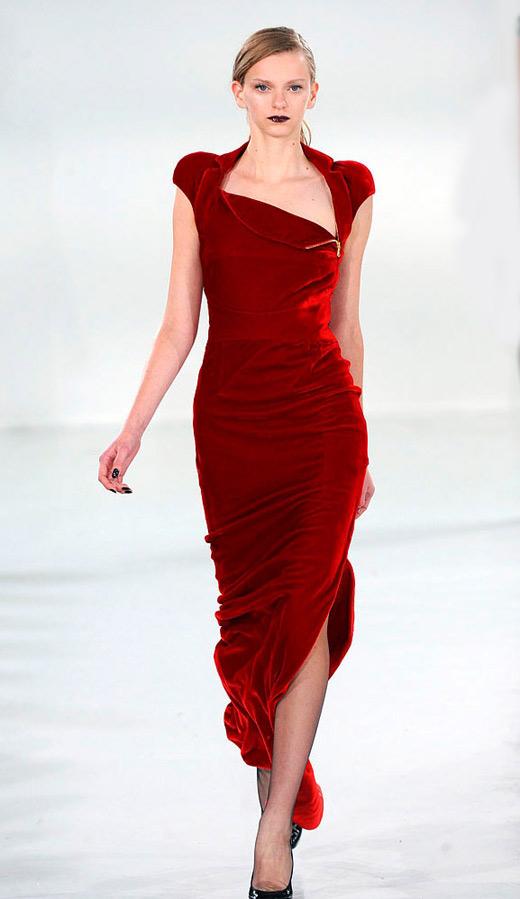 Thời trang nhung bùng nổ trong mùa thu 2010 - 3