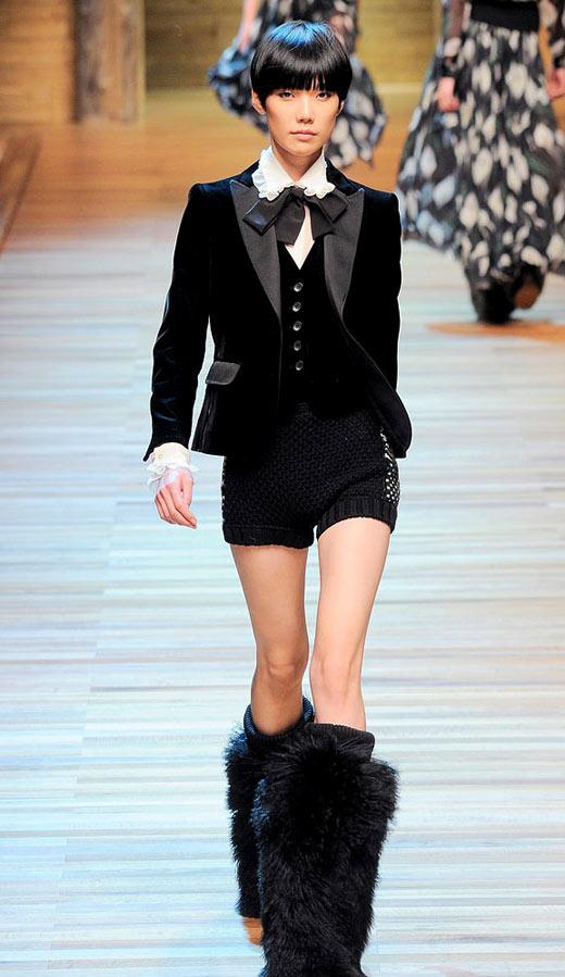Thời trang nhung bùng nổ trong mùa thu 2010 - 6
