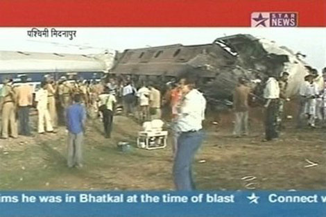 Khủng bố tàu hỏa thảm khốc ở Ấn Độ - 1