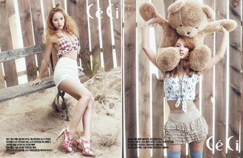"""Lee Hyori, Lee Si Young """"khoe mình"""" trên Ceci - 2"""
