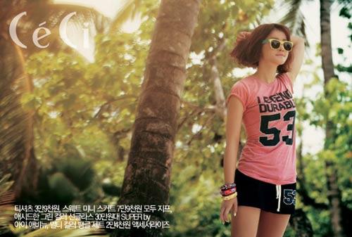 """Lee Hyori, Lee Si Young """"khoe mình"""" trên Ceci - 6"""