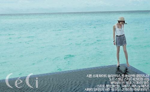 """Lee Hyori, Lee Si Young """"khoe mình"""" trên Ceci - 9"""