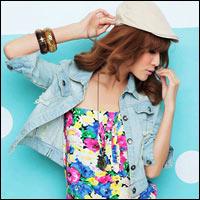 Thời trang jean mê ly cho mùa hè