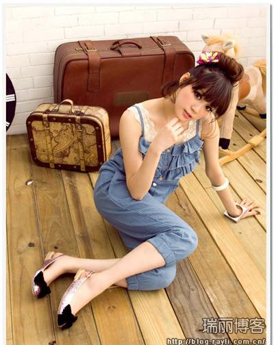 Thời trang jean mê ly cho mùa hè - 13