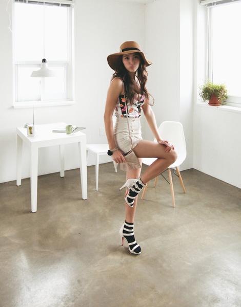 Tôn vinh cặp chân thon với thời trang quần sooc - 3