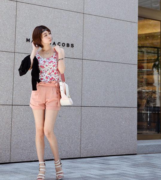 Tôn vinh cặp chân thon với thời trang quần sooc - 13