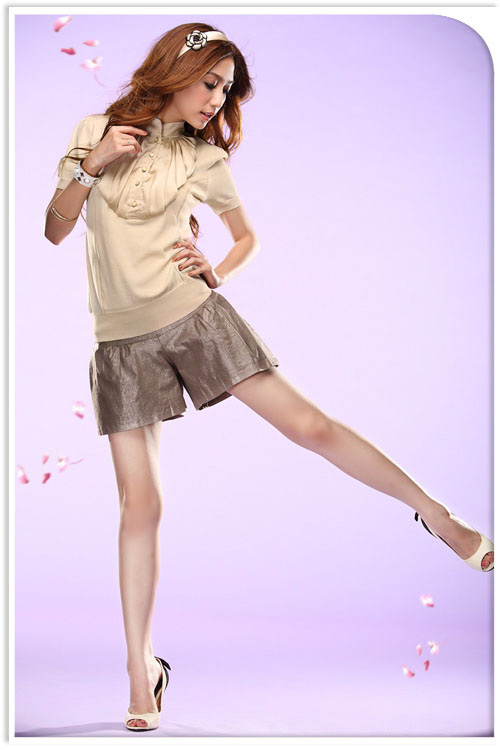 Tôn vinh cặp chân thon với thời trang quần sooc - 18