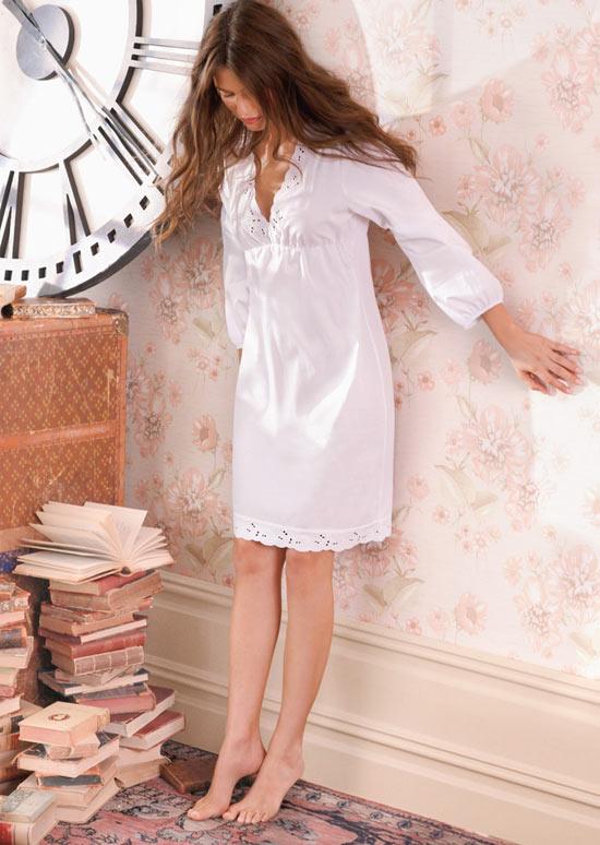 Váy ngủ mùa hè: Đơn giản và quyến rũ - 8