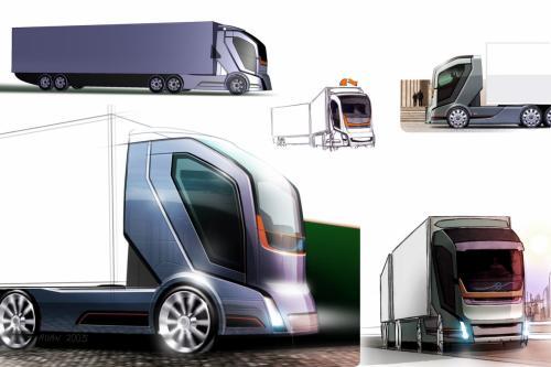 """""""Ấn tượng"""" với xe tải Volvo Concept 2020 - 1"""