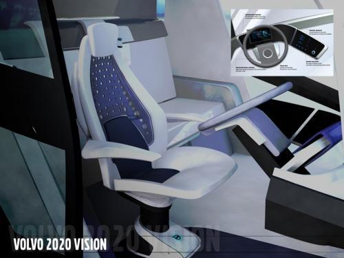 """""""Ấn tượng"""" với xe tải Volvo Concept 2020 - 8"""