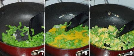 Mướp đắng xào trứng - Đơn giản mà ngon tuyệt - 3