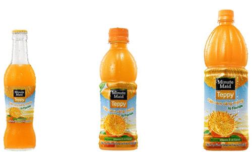 Nước cam Teppy - Sảng khoái và ngập tràn năng lượng từ những tép cam Minute Maid ngon tuyệt - 1