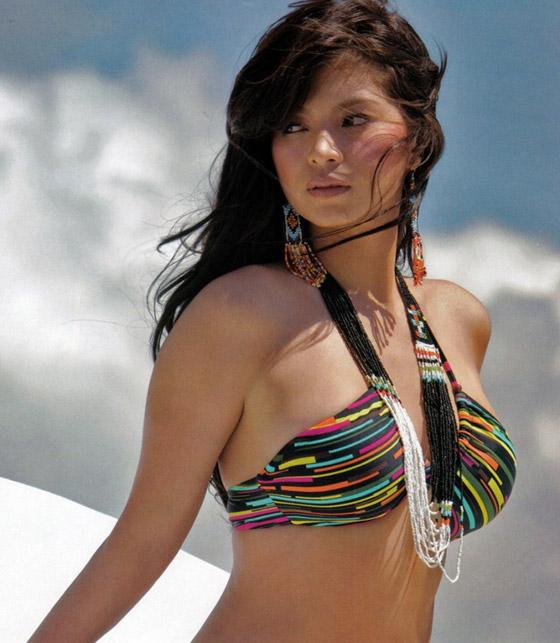 Mỹ nhân Philippin căng tròn cùng bikini - 12