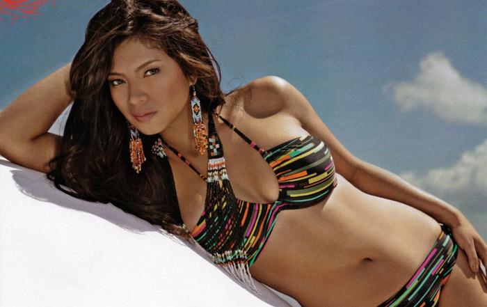 Mỹ nhân Philippin căng tròn cùng bikini - 13