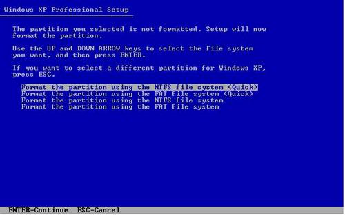 Cách cài đặt Windows XP đơn giản - 4