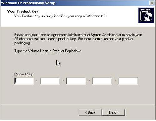 Cách cài đặt Windows XP đơn giản - 7