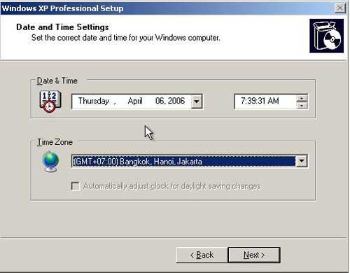Cách cài đặt Windows XP đơn giản - 9