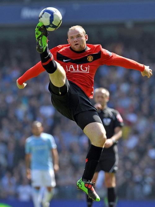 """Wayne Rooney: """"Linh hồn"""" của Quỷ (TOP 10 cầu thủ xuất sắc nhất ngoại hạng Anh 2009/2010 – P10) - 2"""