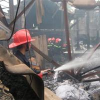 Cháy lớn tại Siêu thị Đà Nẵng
