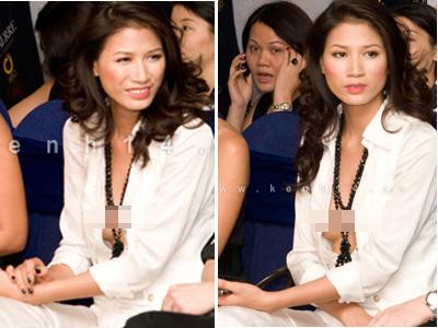 Chiếc áo 'lộ hàng' của Trang Trần - 2