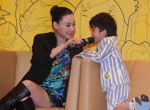 Trương Bá Chi hướng con trai theo Châu Tinh Trì - 9