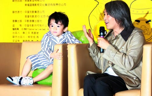 Trương Bá Chi hướng con trai theo Châu Tinh Trì - 5