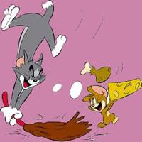 Video funny TOM & JERRY: Mèo hoang gây gổ