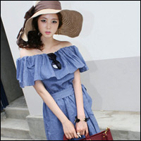 Thời trang hè: Đầm xanh mát lạnh