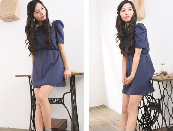 Thời trang hè: Đầm xanh mát lạnh - 8