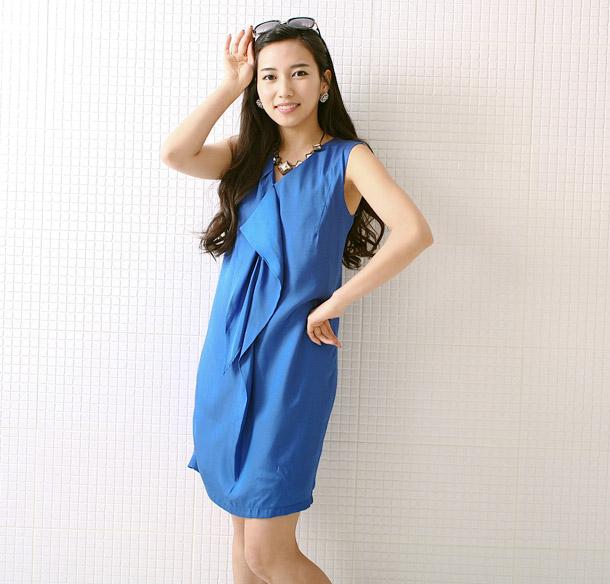 Thời trang hè: Đầm xanh mát lạnh - 10