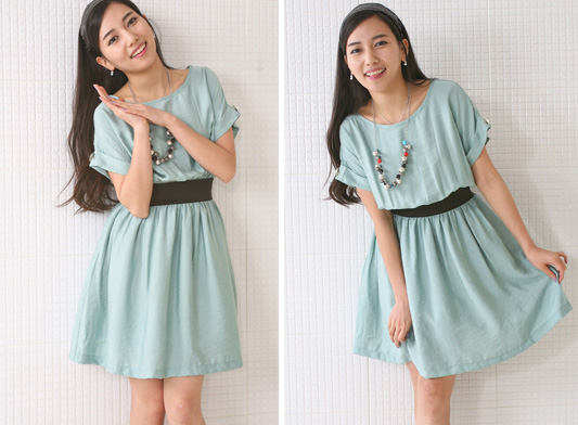 Thời trang hè: Đầm xanh mát lạnh - 7