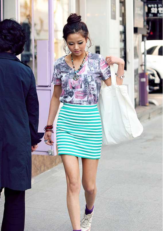 Thời trang hè: Đầm xanh mát lạnh - 6