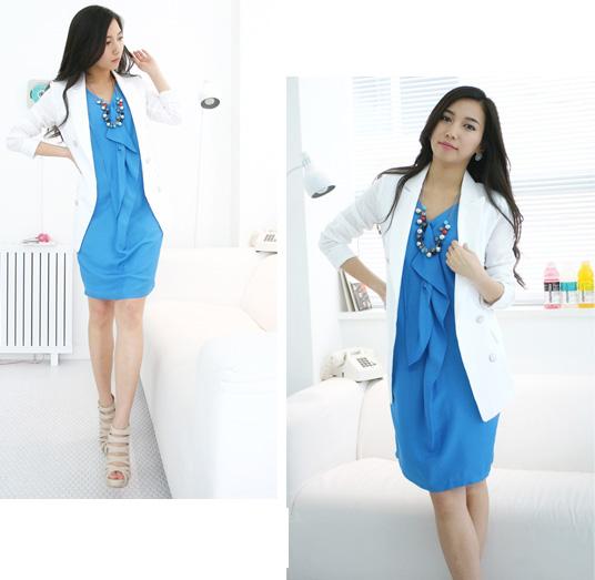 Thời trang hè: Đầm xanh mát lạnh - 11