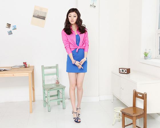 Thời trang hè: Đầm xanh mát lạnh - 19