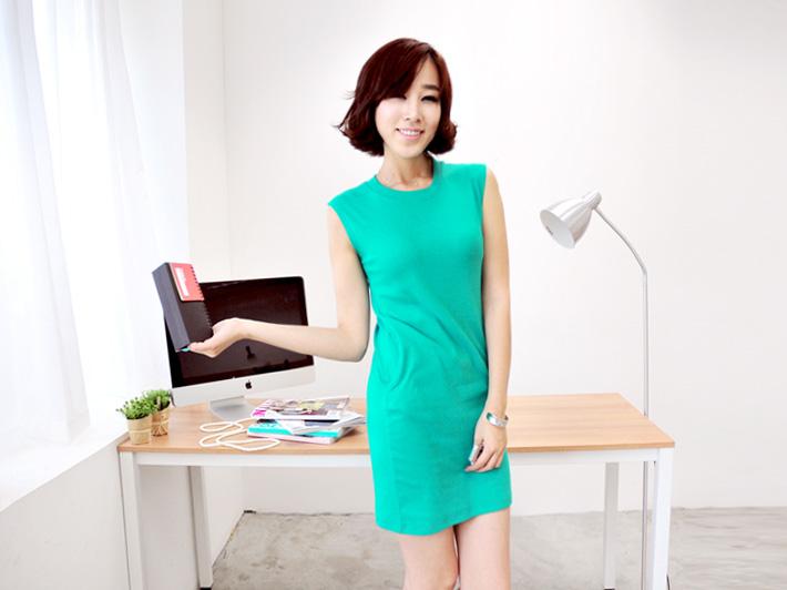 Thời trang hè: Đầm xanh mát lạnh - 17