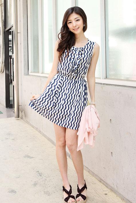 Thời trang hè: Đầm xanh mát lạnh - 13