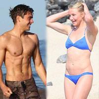 Sao 'nóng' cùng ngực trần, bikini