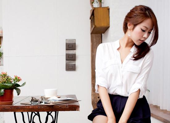 Thời trang công sở: Ngây ngất với sơmi - 16